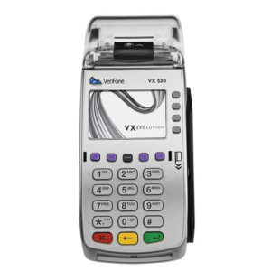VX520 verifone for in store processing