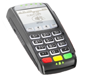 ingenico for retail store with merchant accounts